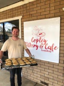 Jimmy Banfield; baker awarded