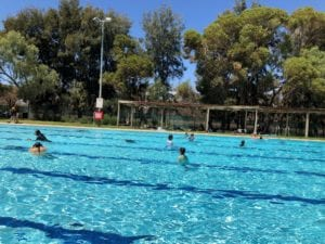 February 19th the Leigh Creek Area School hosted the annual Swimming Carnival.