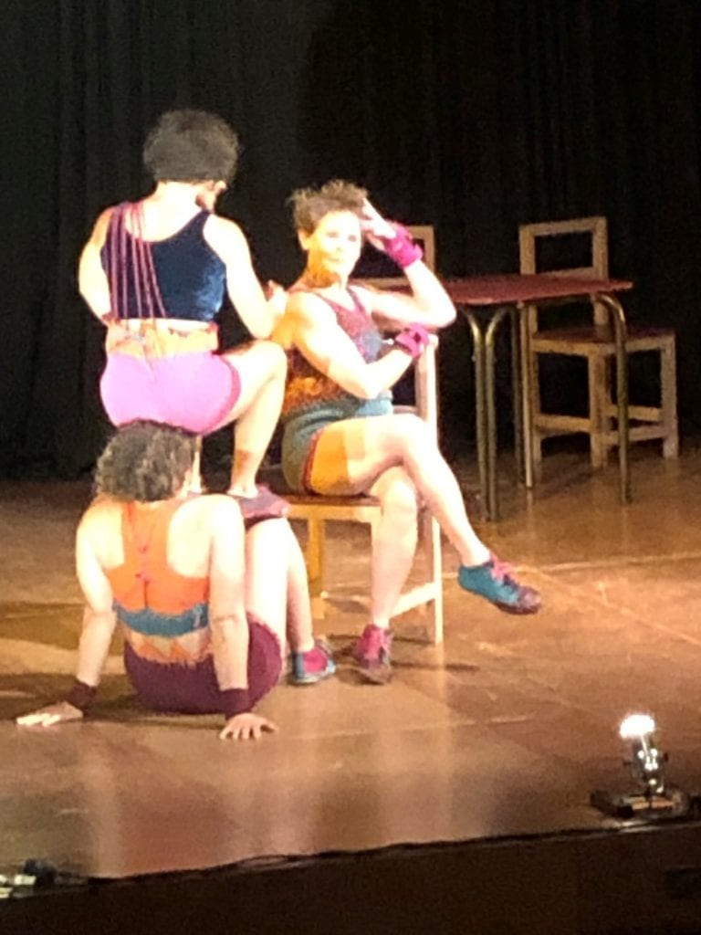 Country Arts SA brought to Leigh Creek the Casting Off performers